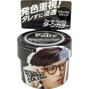 Men's Palty Water Wax Hair (Gel Type Colourant) - Natural Black
