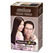 Audace Cream Hair Dry 5 Minute, Dark Brown 13 G.