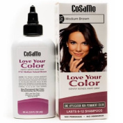 CoSaMo Love Your Colour, No Ammonia, No Peroxide Hair Colour, #765 Medium Brown
