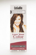 CoSaMo Love Your Colour, No Ammonia, No Peroxide Hair Colour, #777 Medium Ash Brown