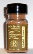 My Secret Hair Enhancing Fibres Light Brown 12 grammes