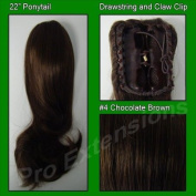 Brybelly Holdings PRPY-4 No. 4 Chocolate Brown Ponytail