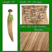 Brybelly Holdings PRST-10-22 No. 22 Medium Blonde - 25cm