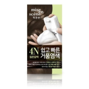 [mise en scene]Easy & speedy foam hair colour, 4N Dark Brown