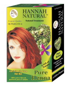 Hannah Natural 100% Pure Henna Powder, 100 Gramme