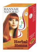 Hannah Natural Pure Herbal Henna Powder, 100 Gramme