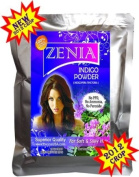 2012 Crop 50g Zenia Pure Indigo Powder Natural Hair Colour grey cover Dye grey hair naturally to Black