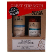 Dr.Miracle Value Pack! -Leave In Conditioner and Dairly Moisturising Gro Oil