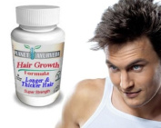 Planet Ayurveda - Thinning Hair Regrowth Balding Treatment For Men - 100% Safe Herbal Hair Growth Pills for Fast Hair Growth - fuller thicker hair. Naturally Stronger Growing Hair. Hair pills for men 60 tablets. Grow Hair Fast!