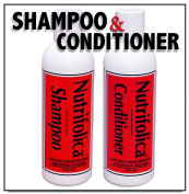 Nutrifolica Hair Loss Shampoo & Volumizing Conditioner Combo - No Sulphates