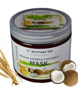 Wheat Germ & Coconut Mask Deep Treatment with Argan Oil 500ml