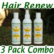 Women's Hair Regrowth System - Growth Accelerator, Hair Loss Shampoo, and Volumizing Conditioner - No Minoxidil