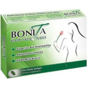 Essential Source Bonita Hair, Skin and Nail Formula for Regrowth - 30 Soft Gels, Pack of 2