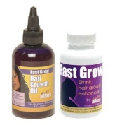 Fast Grow Hair Grow Oil with Black Hair Vitamins
