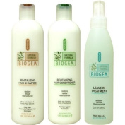 Dr Ross' BIOGEM Shampoo 350ml /Conditioner 350ml/Treatment 240ml- Oily
