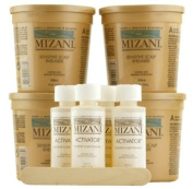 Mizani Rhelaxer for Sensitive Scalp Hair Relaxer with Arginine Technology - Kit
