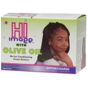 Hi Image Olive Oil No Lye Relaxer Kit Super