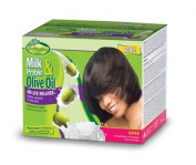 Milk Protein & Olive Oil No-Lye Relaxer Super
