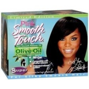 Lustre Pink Smooth Touch Olive Oil Conditioning Hair Relaxer Super
