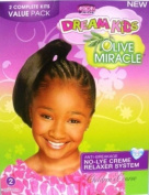 African Pride Dream Kids Olive Miracle Relaxer Kit Coarse 2 Application