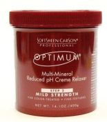 Optimum Care Multi-Mineral Relaxer Mild 420ml Jar (3-Pack) with Free Nail File