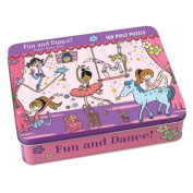 Fun and Dance! 100 Piece Puzzle Tin