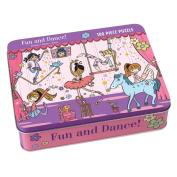 Fun and Dance! 100 Piece Puzzle Tin