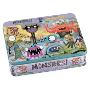 Monsters 100 Piece Puzzle Tin