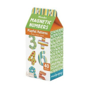 Mudpuppy Playful Patterns Numbers Wooden Magnetic Set