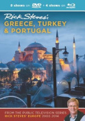 Rick Steves' Greece, Turkey & Portugal 2000-2014  : 8 Shows on DVD Video + Blu-Ray Disc