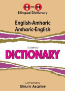English-Amharic & Amharic-English One-to-One Dictionary