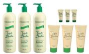 Triple Lanolin Original Combo Hand & Body Lotion *contains 3-20oz Bottle, 3-2.25oz & 3-.75oz Tubes