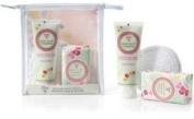 Bloom Cosmetics - Vanilla Bean Scented Hand Cream, Scented Soap & Sponge