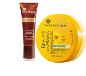 Yves Rocher FRANCE Riche Creme Hand Cream Anti-Wrinkle Ultra-Nourishing, 50 ml tube (+50 years/ mature skin) + Free Gift Value $ 45.00 Beaute Mains ( Beautiful Hands Cream with Organic Arnica enriched with Shea).