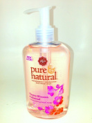 Pure & Natural Hand Soap, Moisturising Cherry Blossom and Almond, 250ml Pump