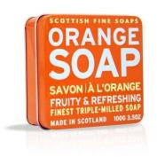 Scottish Fine Soaps Tins Orange Seife