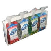 Dial Complete Foaming Anti-bacterial Hand Wash Variety 4-Pack - 220ml Each