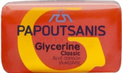 Papoutsanis Pure Bar Soap Glycerine Red 2pcsx125g