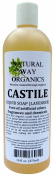 Castile Soap Lavender 16 oz.