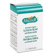 MICRELL NXT Antibacterial Lotion Soap Refill, Light Scent, 1000ml