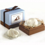 Rabbit Soap with Leaf Shaped Dish from Gianna Rose