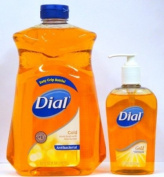 Dial Gold Antibacterial Liquid Soap with Moisturiser, 330ml Pump Bottle + 1540ml Refill