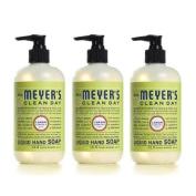 Mrs. Meyers 0814368 Liquid Hand Soap - Lemon Verbena - Case of 6 - 370ml