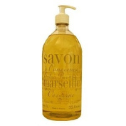 La Compagnie De Provence Marseille French Verbena Liquid Soap 1000ml With Pump From France