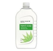 SIMPLY RIGHT ALOE HAND SOAP 2370ml SIZE BOTTLES (640 OUNCES TOTAL)