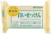 Miyoshi Soap   Soap   Additive Free White Soap 108g