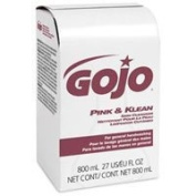 PT# 9128-12 PT# # 9128-12- Cleanser Skin Pink & Klean 800mL Gentle Bag In Box 12/Ca by, Gojo Industries Inc