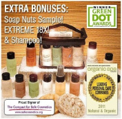"NaturOli ""Ultimate"" Mini / Trial Set - From truly natural skin & hair care to organic laundry & household cleaning. Includes Soap Nuts / Soap Berry products. Now with. ES!"