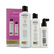 System 3 System Kit For Fine Hair, Chemically Treated, Normal to Thin-Looking Hair, 3pcs