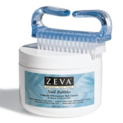 Zeva Nail Bubbles with Nail Brush - Nail Whitening Formula. Note.